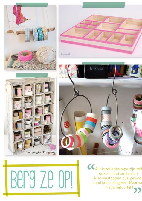 100 ideas masking tape, 100 ideas washi tape, 100 ideas deco tape, zo gebruik je masking tape