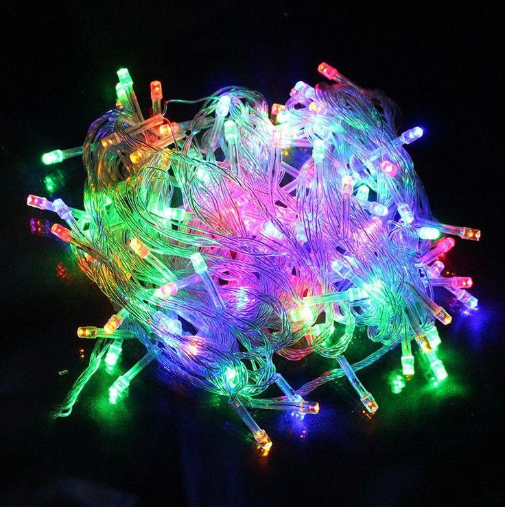 10 M Waterproof 110V/220V 100 LED holiday String lights for Christmas Party #Unbranded