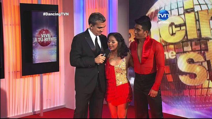 """Presentación de Josenid en la primera gala de """"Dancing With the Stars"""" 14/04/15"""