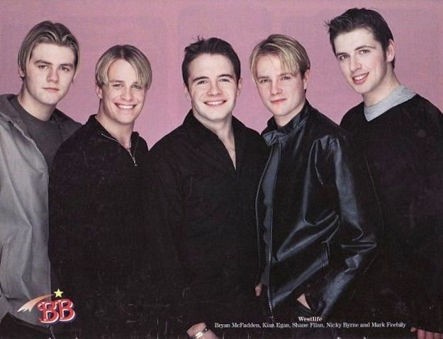 Westlife, music, 1990s, 90s, boy bands