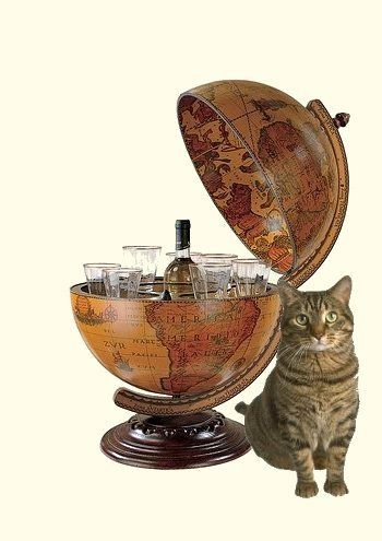 Captain Picard barglobe [40 cm breed]