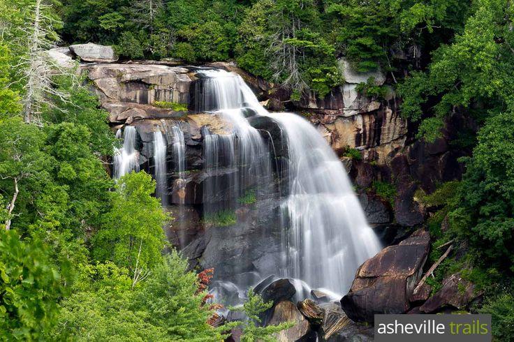 Whitewater Falls NC: waterfall hiking near Cashiers