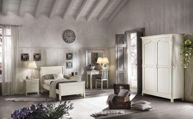 Armadio 2 Ante Cassettiera A Richiesta | Camere Da Letto Provenzali | mobili Casa Idea Stile