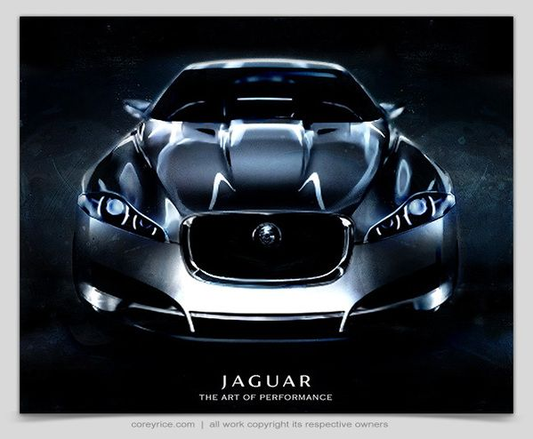 https://www.behance.net/gallery/1049219/Jaguar-Concept-Car-Poster