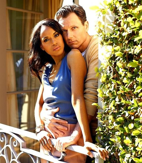 Ooooweeee! Kerry Washington And Tony Goldwyn Look Like The Real Thing In TV Guide Shoot