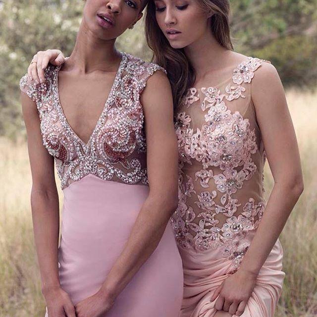 Dresses by Lena Kasparian... beautiful for bridesmaids or a more modern bridal choice. #lenakasparian #dress #bridesmaid #bride #wedding #gown #dress #couture #designer #fashion #fashiondesign #boutique #bridalgown #bride