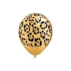 Leopard balloons, Carol's wedding
