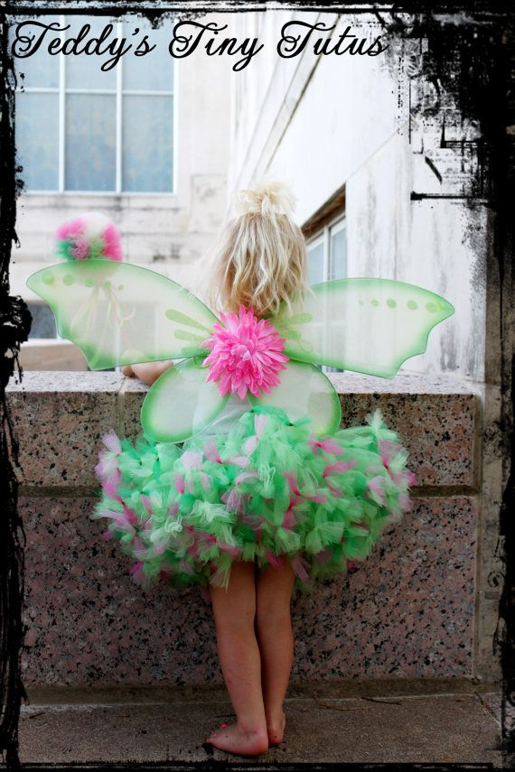 Toddler Tinkerbell Costume Tinkerbell Tutu by PansyPieBoutique