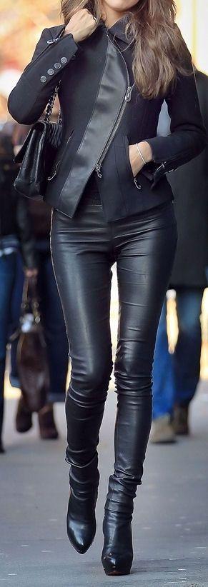 Love this edgy, asymmetrical jacket.