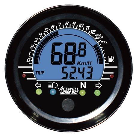 <b>Digital LCD display</b>. 52mm Multi-function Speedometer | Детали ...