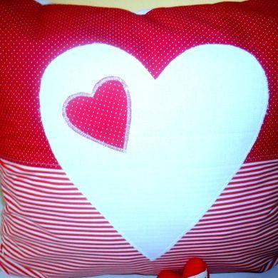Ja spravim vankúš srdce v srdci za 7€ | Jaspravim.sk