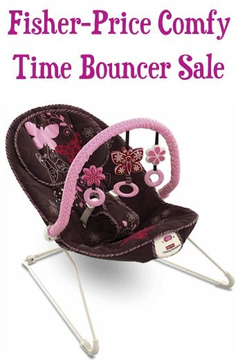 Fisher-Price Comfy Time Baby Bouncer Sale: $20.00!  {after instant coupon} #babies #thefrugalgirls- Nice deal!!