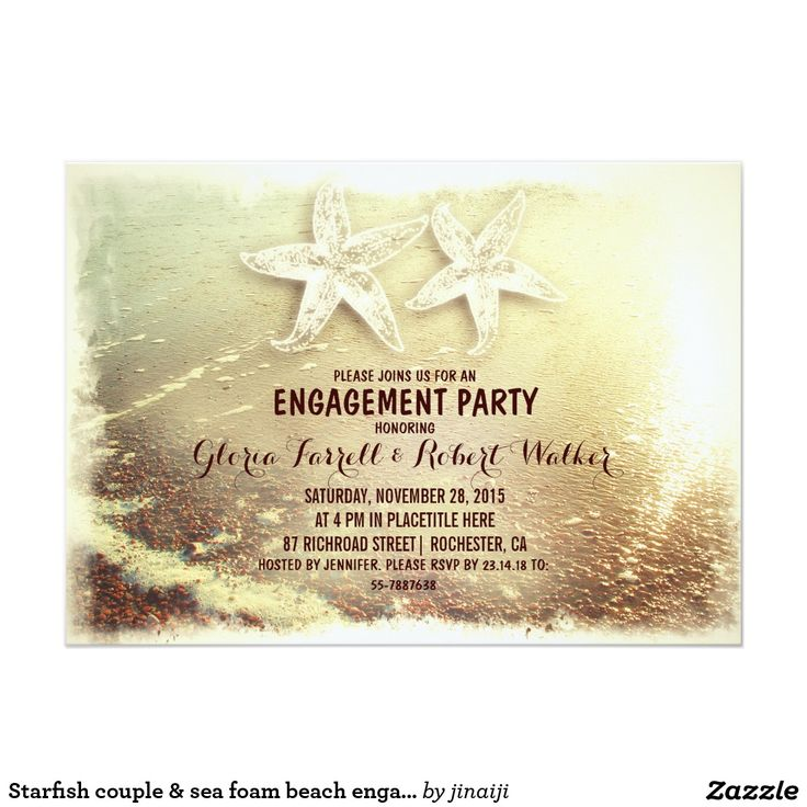 The 25 best ideas about Beach Engagement Party – Beach Themed Engagement Party Invitations