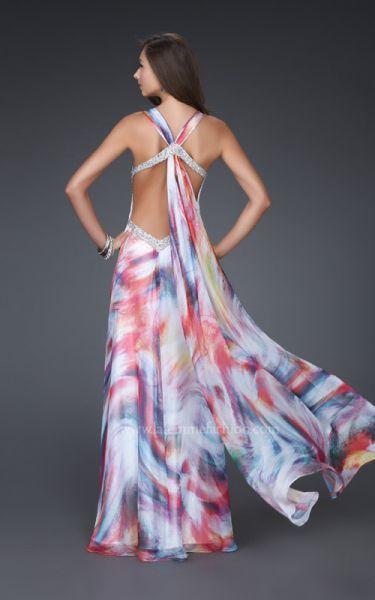 (Foto 2 de 34) Vestidos de Fiesta 2011 La Femme Fashion., Galeria de fotos de ¡Vestidos estampados que harán que sueñes en colores!