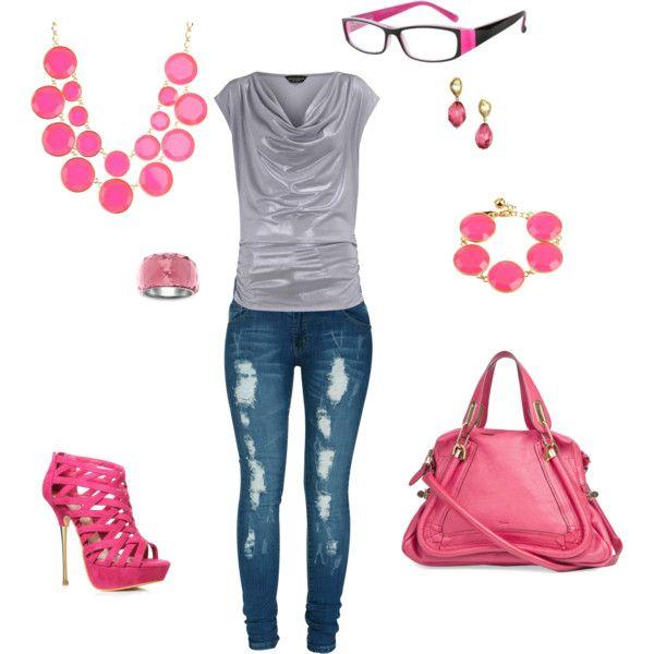Pink&Silver - rocker chic