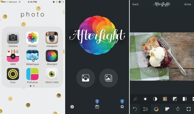 how I edit iphone photos for instagram