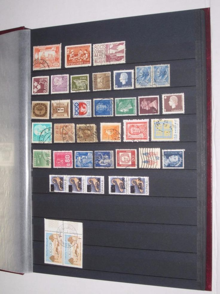 HONG KONG and MORE Stamp Book Binder Collection 16 pgs 800 stamps  LV06659