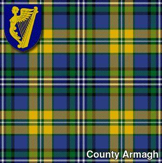 tartans   Irish Kilt Tartans - County Armagh Irish Tartan