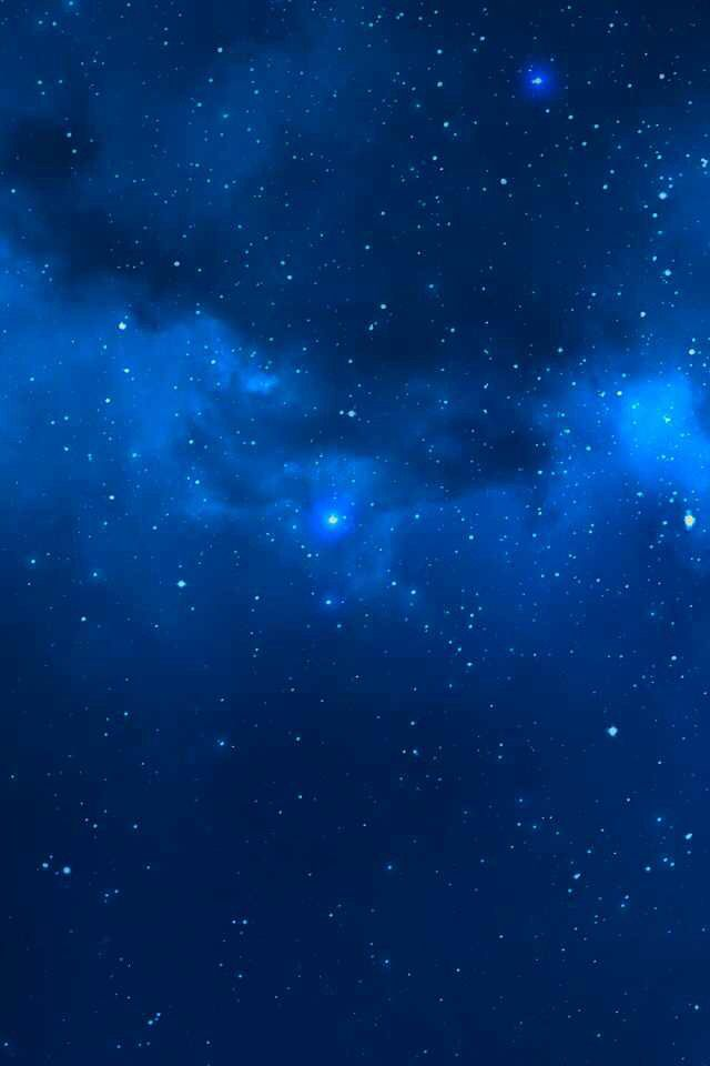 blue stars outer space galaxy wallpaper outer space