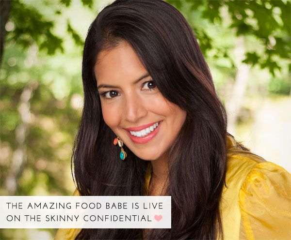 Oh em GEE, guys! Food Babe is on The Skinny Confidential today...EEK! Lemme tell ya, this interview is ON POINT because the investigator of all food investigators, Vani Hari, knows her crap. Litera...