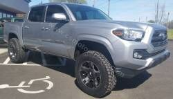 """2016 Toyota Tacoma * 3"""" SST ReadyLift Suspension Inc. LIFT KIT * 18x9 XD911 KMC Wheels (+0) Black & Machined * 285/65R18 OPEN COUNTRY AT2 Toyo Tires * Custom Window Tint * Undercover FLEX Bed Cover"""