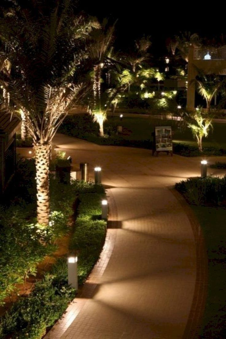 40 Awesome Outdoor Lighting Ideas To Welcome 2019 Eclairage Exterieur Jardin Jardins Accessoire Jardin