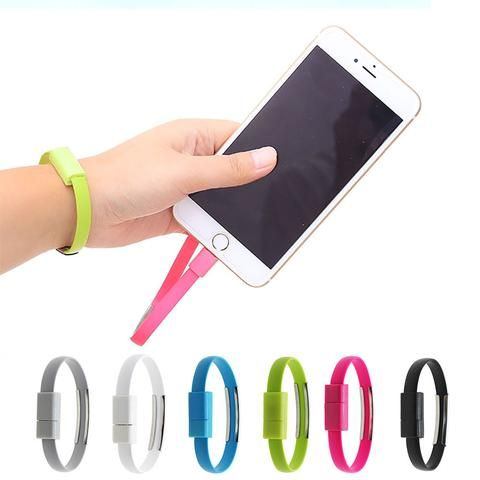 8 Pin USB Data Sync Charger Cable Bracelet Wristband For iPhone 5s 6 Plus 6s 6s Plus