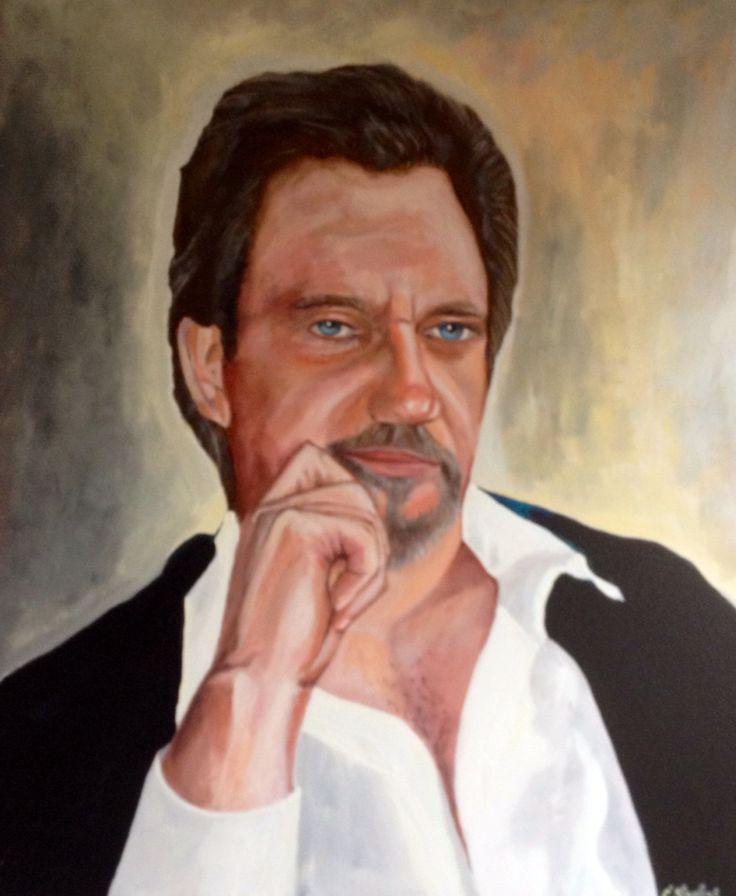 Portret van Ronny door Carlos Staelens