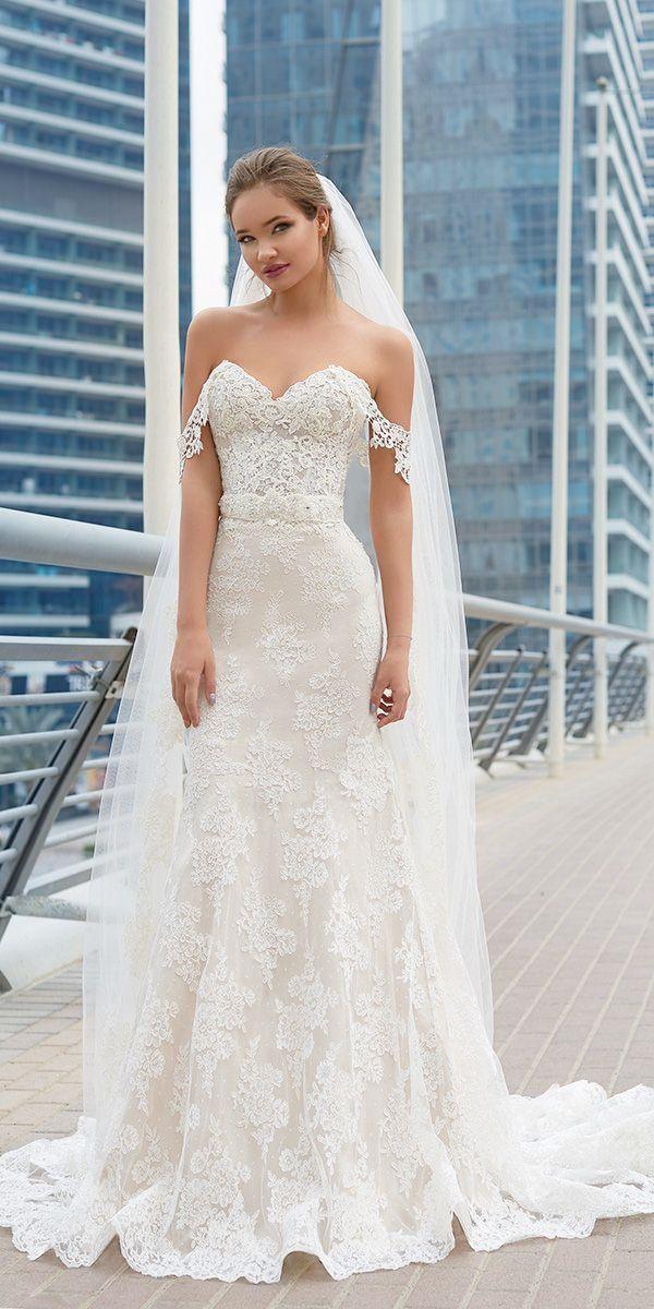 Lace Wedding Dresses Adelaide Mermaid Dress Sheer
