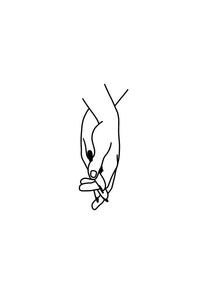 Image of HAND IN HAND (Postcard)