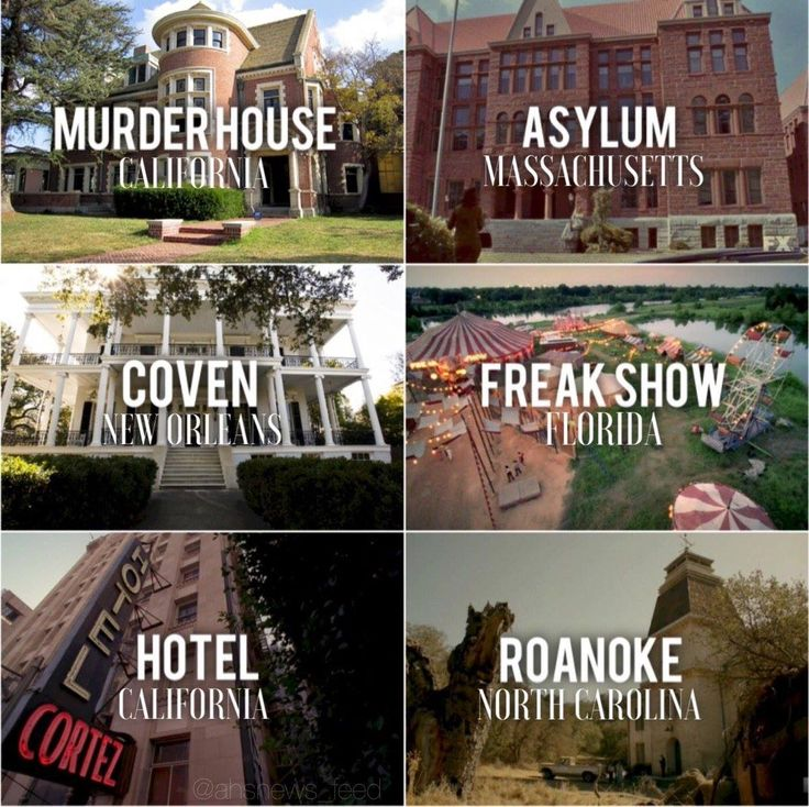 AHS: 6 Seasons + Locations.