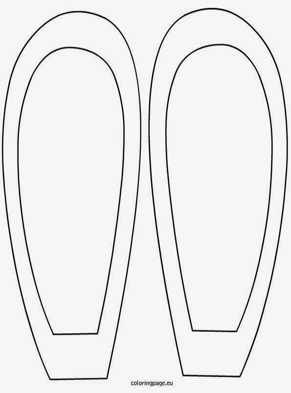 Terrible image throughout bunny ear template printable