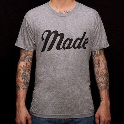 Made Collection | Made Movement T-Shirt | Made in USABoulder Colorado, 26 American, American Apparel, Movement T Shirts, America Shops, American Workers, Men Tattoo, American Made, Movement Tshirt