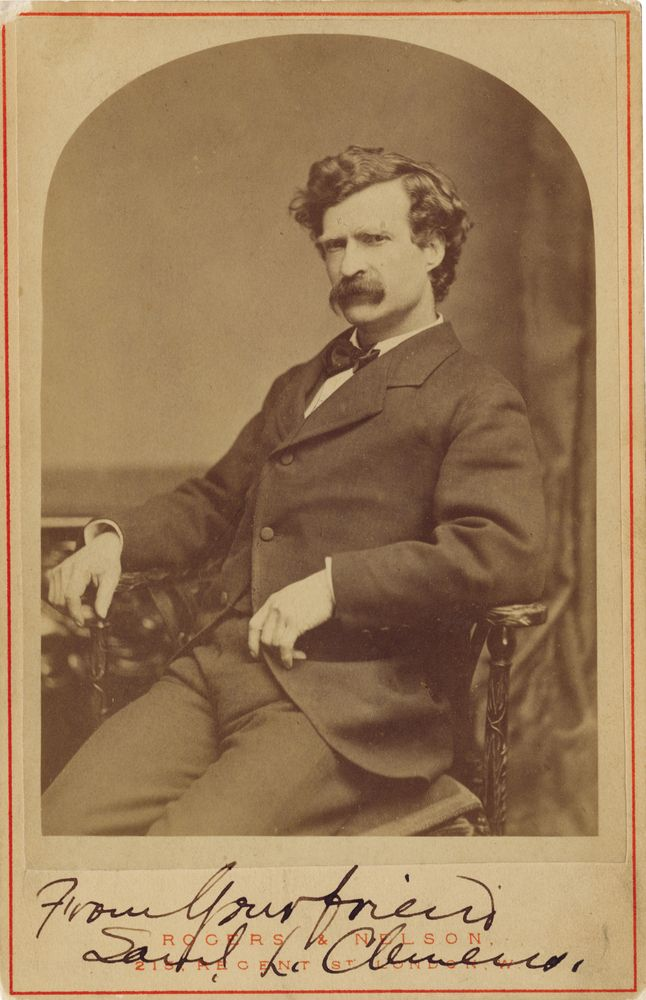 6 Rare Images Of Mark Twain Portrait And Mark Twain