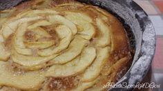Torta light alle mele e cannella (97 calorie a fetta)