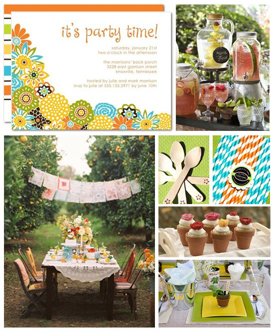 Memorial Day is the official kick-off for summer BBQs. Are you planning a summer party?Summer Bbqs, Summer Gardens, Official Kicks Off, Summer Kickoff, Summer Parties, Garden Parties, Bridal Shower, Parties Ideas, Gardens Parties