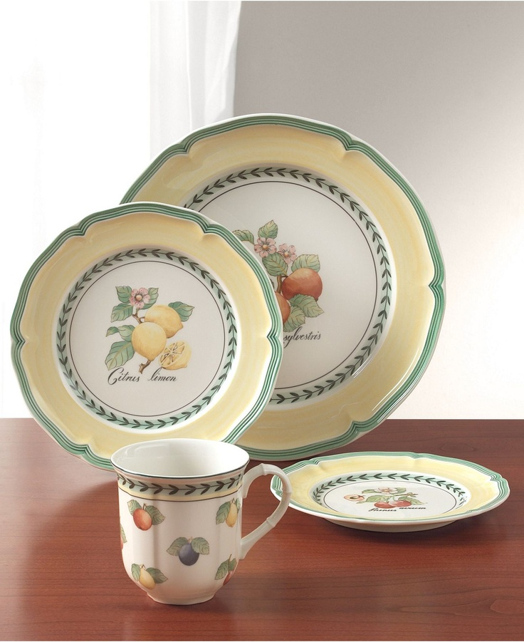 Villeroy U0026 Boch Dinnerware, French Garden Collection