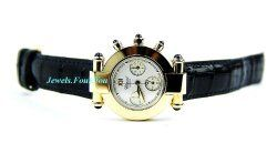Chopard Chronograph Watch Emperiale 18k Solid Gold 383157 Sapphire New Box