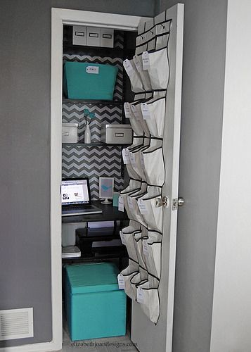 remarkable closet office | Closet to Office: Part 3 The Reveal | Diy home decor, Room ...