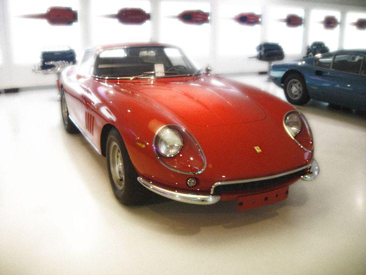 Ferrari 275 at the Ferrari Museum in Maranello.
