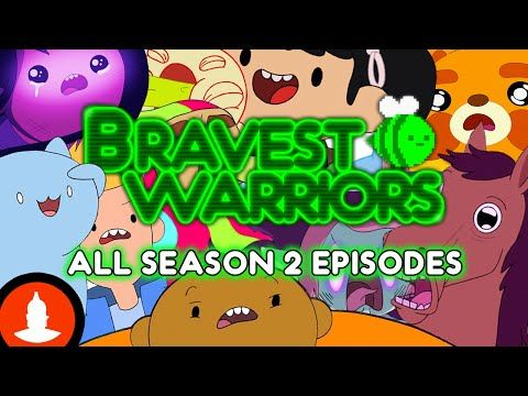 Just see this! Full season 2 online only, animation series, Bravest Warriors. From Adventure Time creator, surreal and funny scifi. On Cartoon Hangover (Every Episode) - You Tube