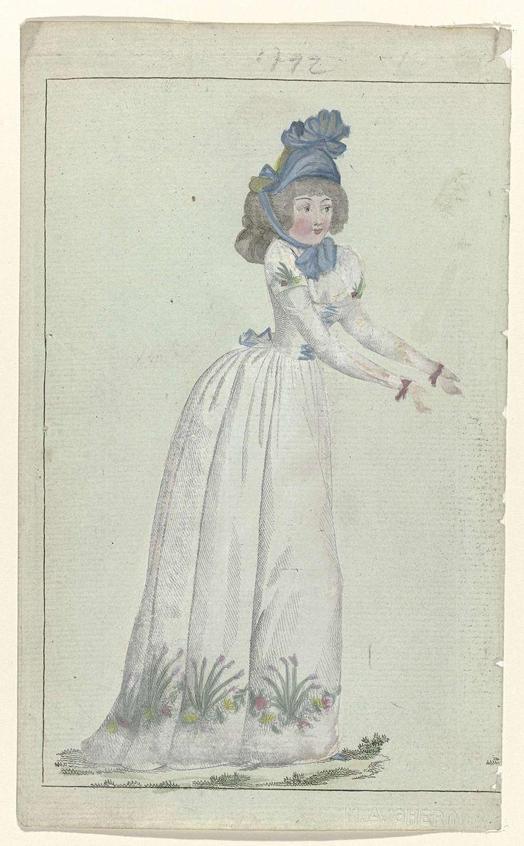 Journal de la Mode et du Goût, 20 mai 1792, 9e cahier, pl. 1, M. Le Brun, 1792
