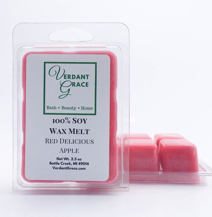 Red Delicious Apple Wax Melt, 3oz