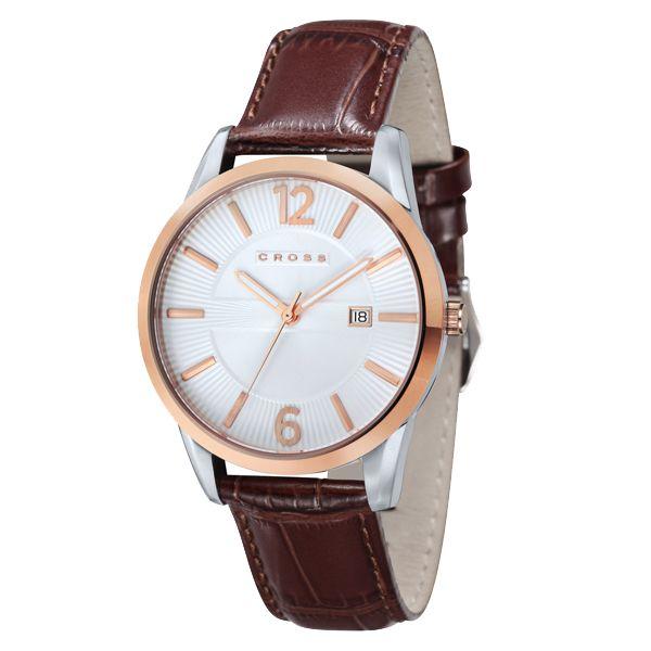 CROSS クロス GOTHAM SERIES ゴッサム シリーズ 腕時計 メンズ ホワイト CR8002-04