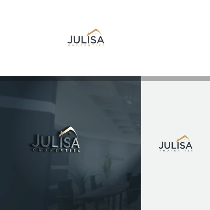 Create an engaging logo to allure distressed property owners for Julisa Properties by r e s i z e ppc