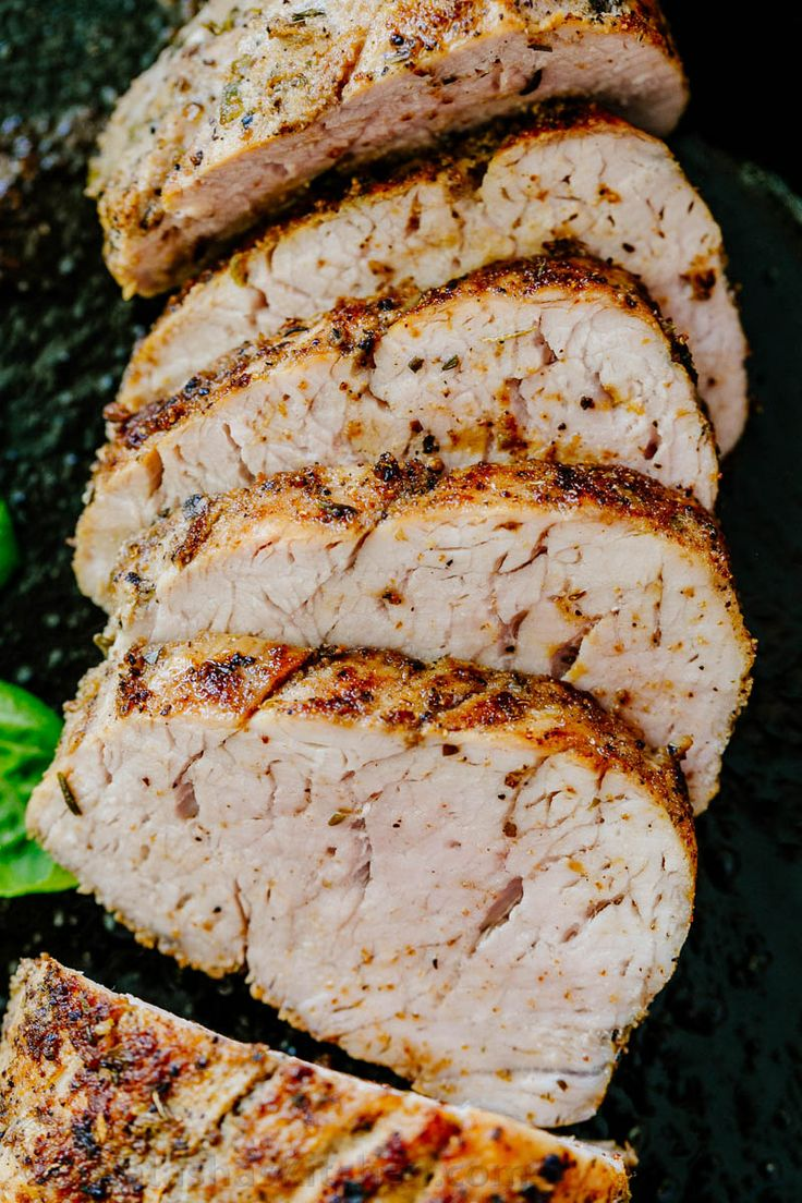how to marinate a pork tenderloin and cook
