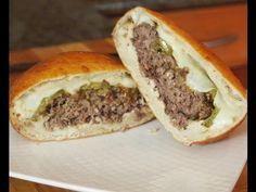 """The Slav"" Deep Fried Burger Recipe Using Ground Ribeye"
