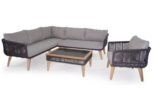 Prelude Corner Outdoor Lounge Set - outdoor lounge