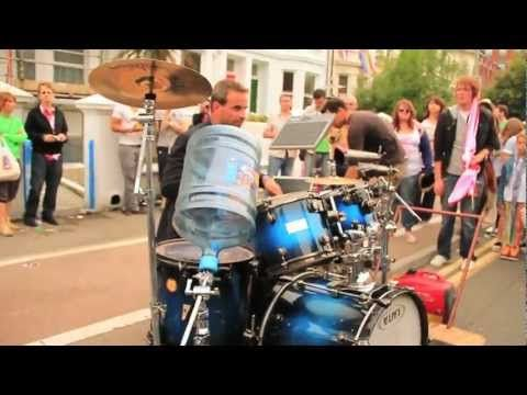 Incredible street drummer - Oded Kafri, Gay Pride 2011 - YouTube