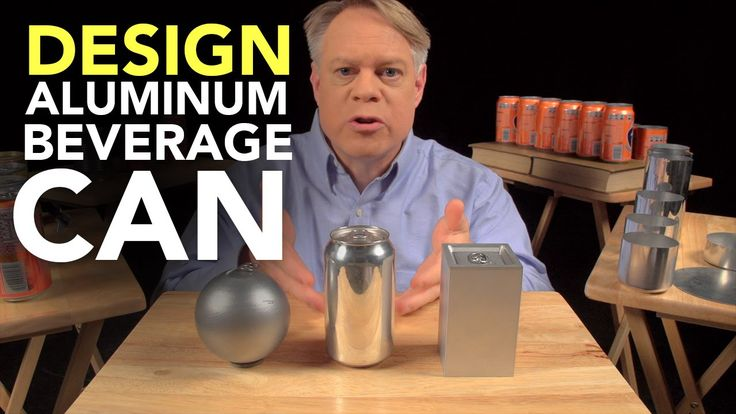 The Ingenious Design of the Aluminum Beverage Can #engineering #design #science #education #aluminum